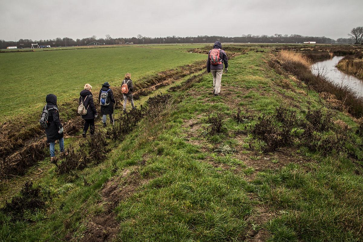 Vurensche Polderpad: Op Klompenpad Tussen Linge En Waal