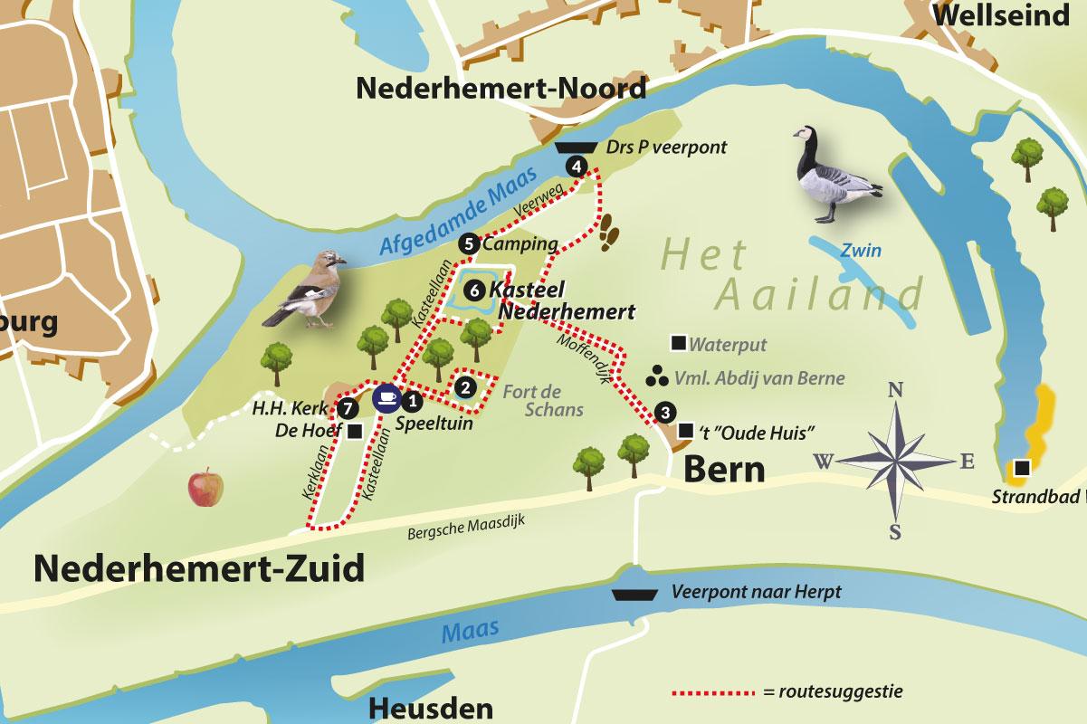 Rondwandeling Op Het Eiland Van Nederhemert (6 Km)