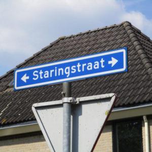 In Gendringen Herinnert Ons Een Straatnaam Eraan Dat Staring Hier Is Geboren.