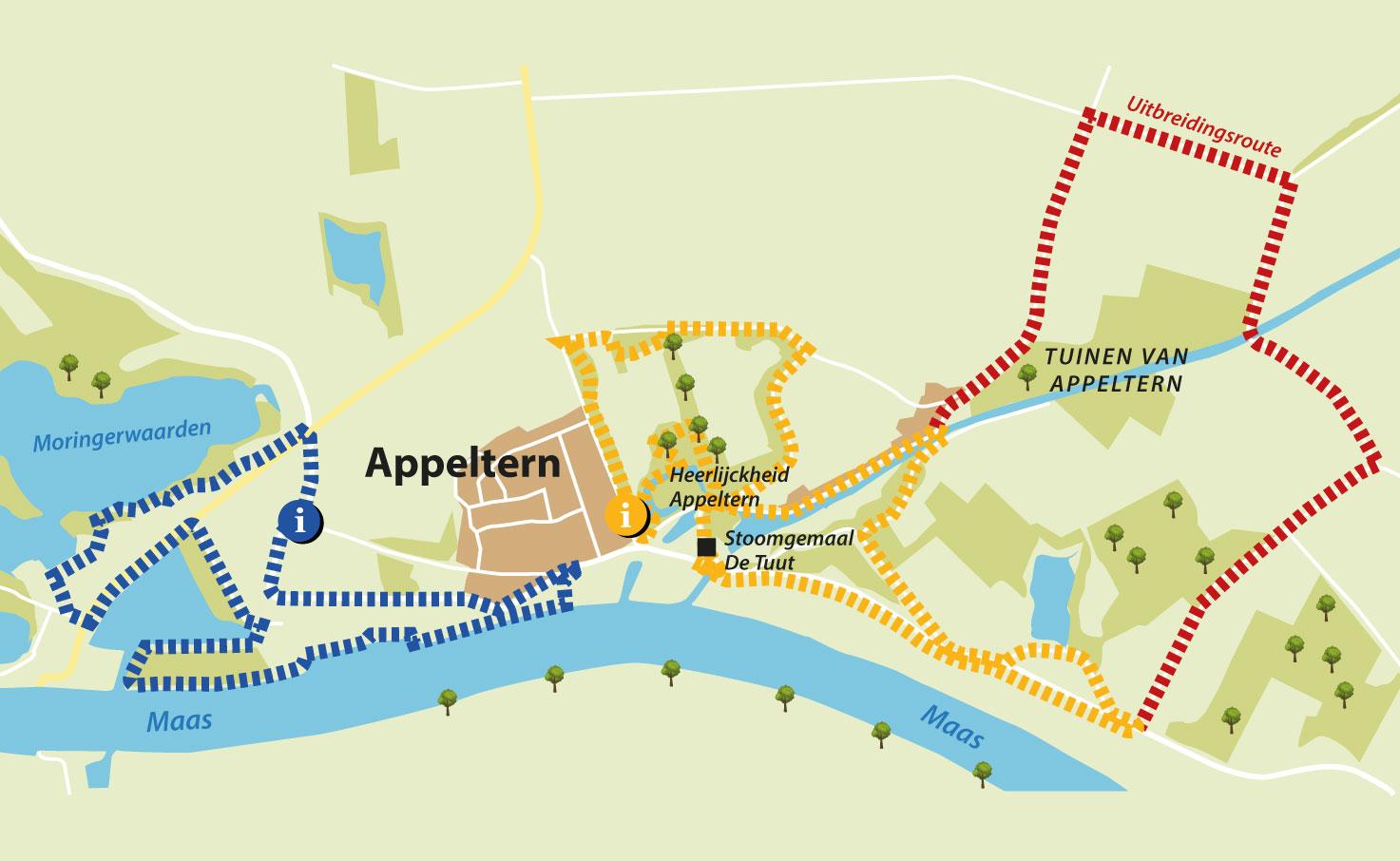 Nieuwe Wandelroute Door Mooi Appeltern