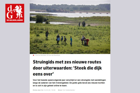 Mooi Artikel In De Gelderlander Over De Nieuwe Struingids