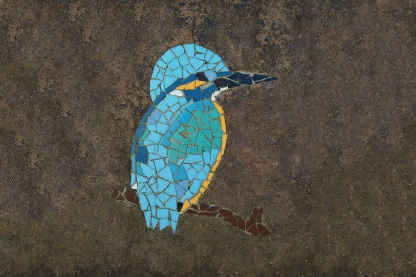 Ijsvogel Mozaiek