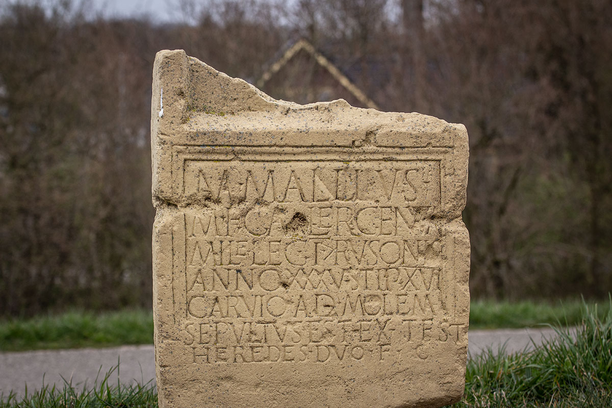 Grafsteen Van Marcus Mallius