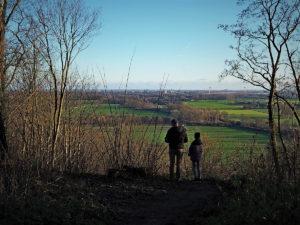 Uitzicht vanaf de Elterberg