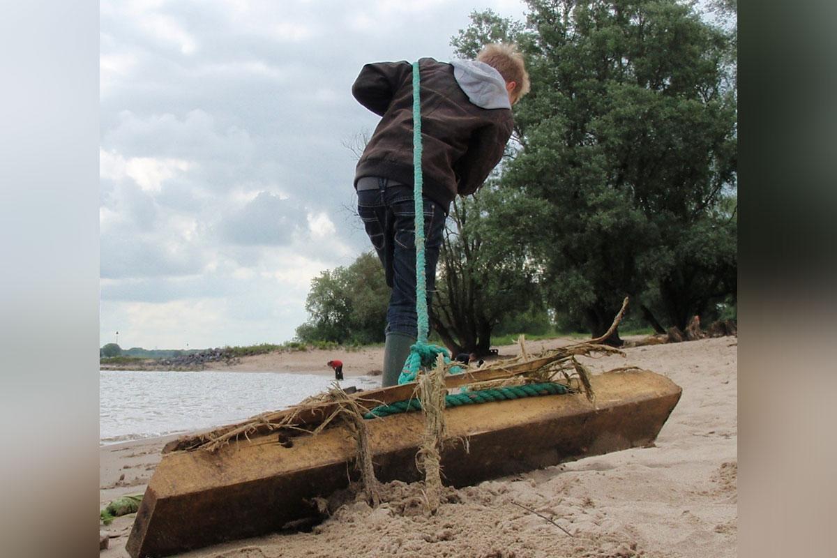 Waalwoemi: Vijfkamp op het Waalstrand